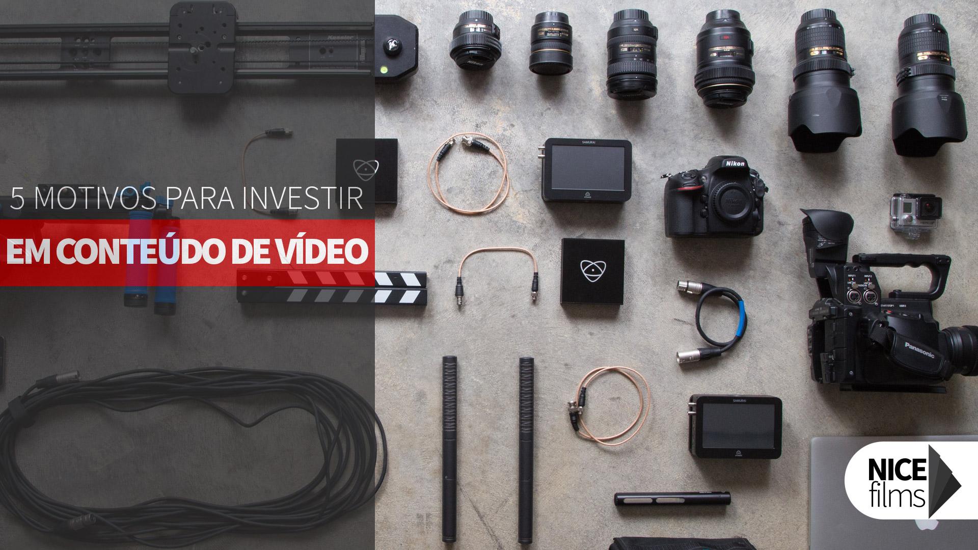Conteúdo de Vídeo Porque Investir