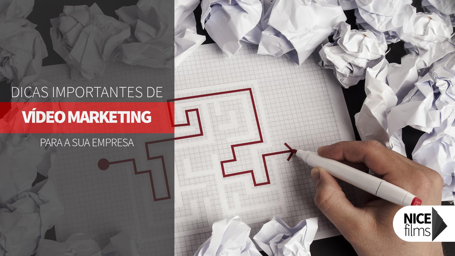 12 Dicas importantes de Vídeo Marketing para sua marca
