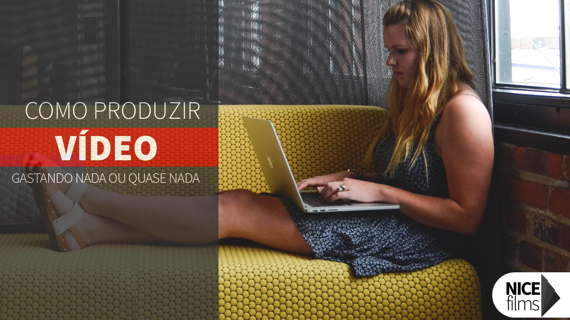 Produza vídeo para sua marca