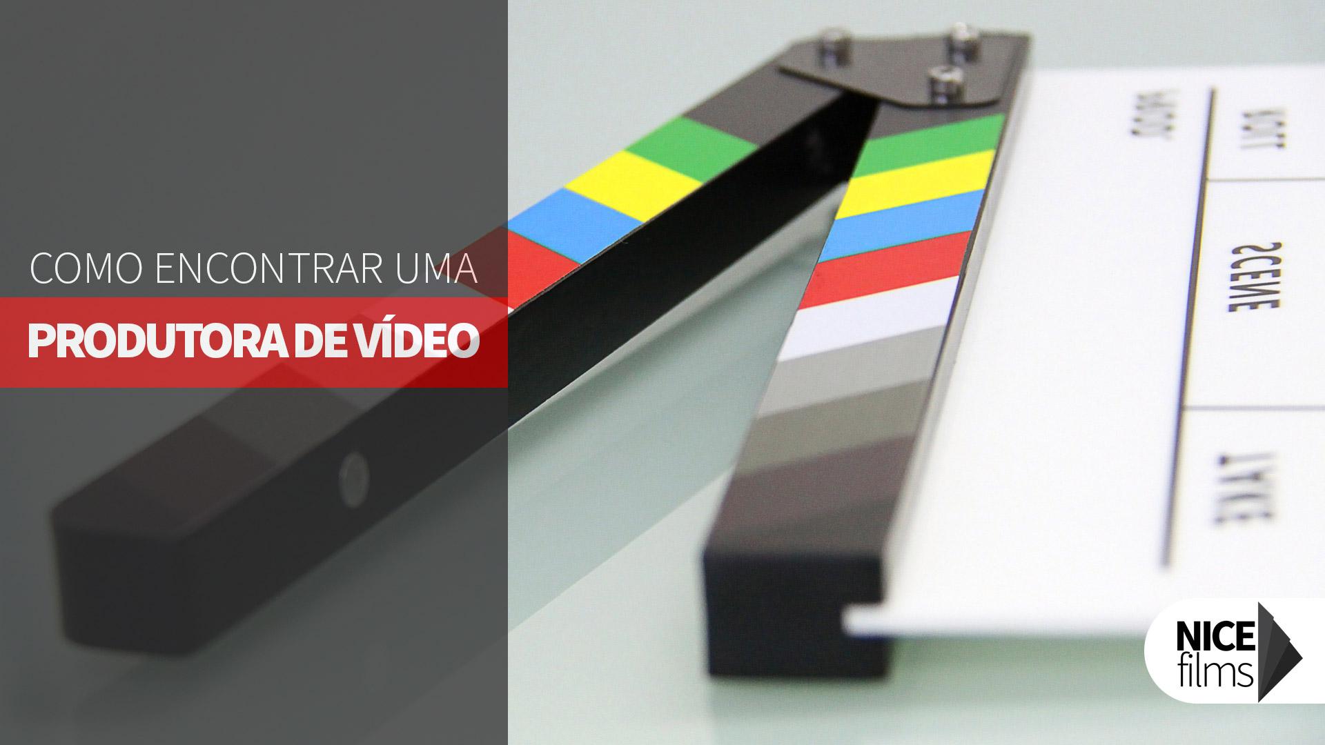 Como Encontrar Produtora De Vídeo
