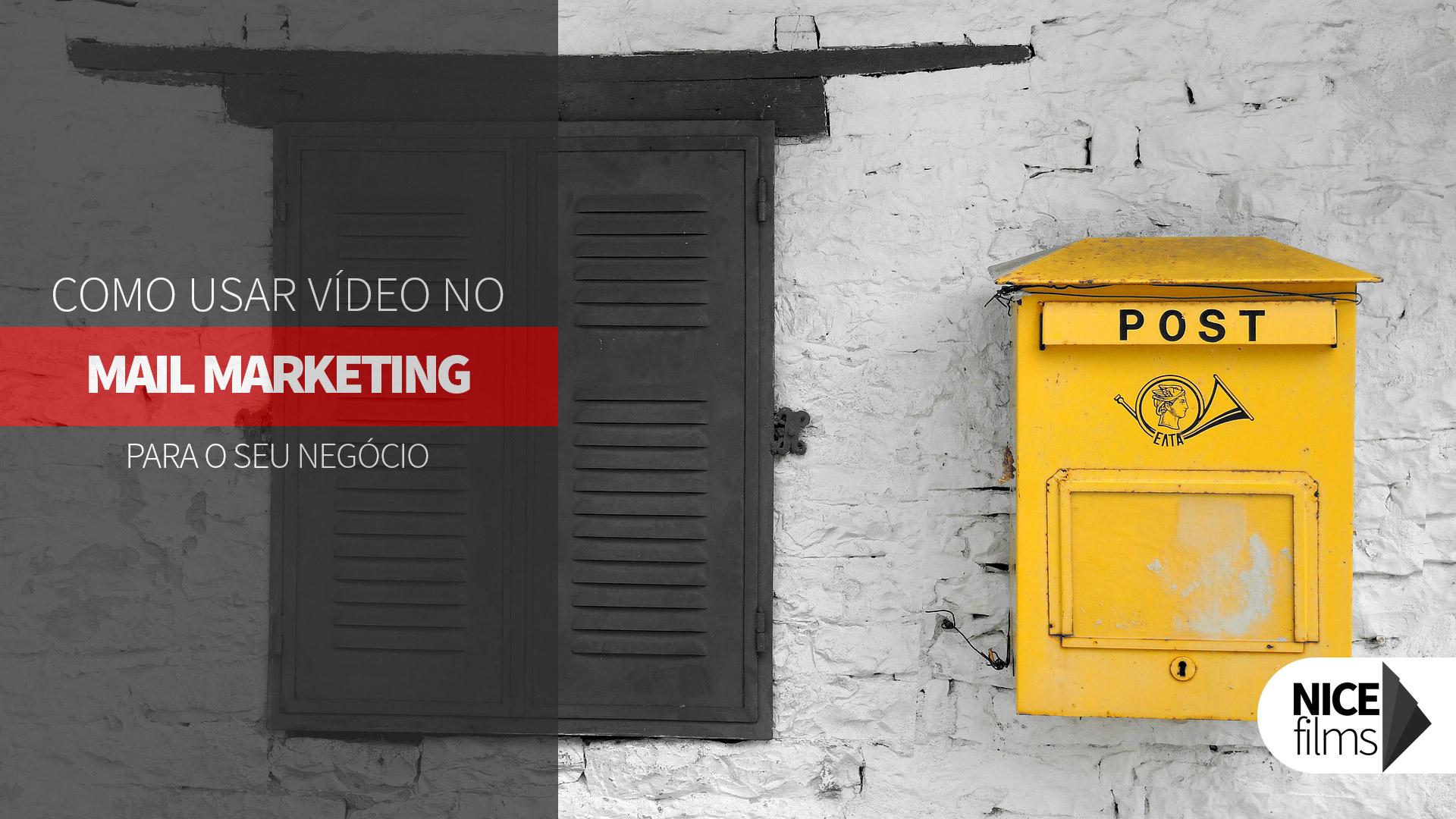 Vídeo em sua campanha de e-mail marketing